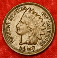 1907 INDIAN HEAD CENT PENNY XF COLLECTOR COIN GIFT CHECK OUT STORE IH861