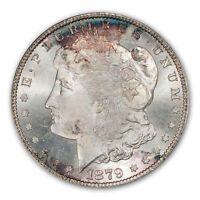 1879-S $1 MORGAN DOLLAR PCGS MINT STATE 66