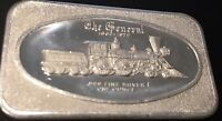 1 TROY OZ .999 FINE SILVER ART COLLECTIBLE BAR THE GENERAL 1862 1972 LOCOMOTIVE