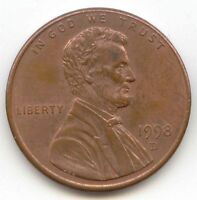 USA 1998D AMERICAN PENNY ONE COIN LINCOLN MEMORIAL 1C EXACT PENNY SHOWN 1998 D