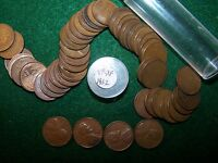 1932  ROLL LINCOLN WHEAT PENNIES ROLL IN V FINE  X FINE CONDITION   LOT 1