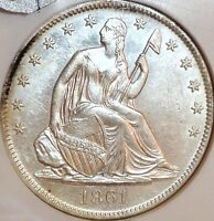 1861 O  S S REPUBLIC FIFTY CENTS..NGC AU B LA ISSU..SALE 38OFF REDUCED10/26