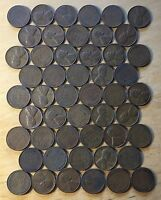 ROLL OF 50 US CENTS DATED 1944 VF