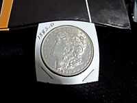 1883 0  MORGAN SILVER DOLLAR  AU  BRILLIANT