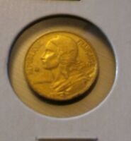 1966 FRANCE 5 CENTIMES COIN