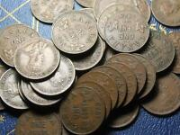 1928 CANADIAN SMALL CENTS KING GEORGE V        BUY ONE OR BUY THEM ALL