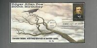 US FDC FIRST DAY COVER   4377 EDGAR ALLAN POE  2009