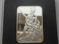 BELARUS WEIRUSSLAND 20 RUBLES 2010 CUPID AND PSYCHE  STATUE  SILVER COA