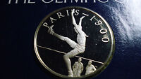 1900 OLYMPIC GAMES PROOF COIN RAY EWRY