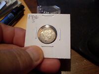 1916 S BARBER DIME  MINT STATE