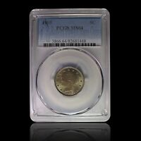 1905 5C LIBERTY NICKEL PCGS MINT STATE 64