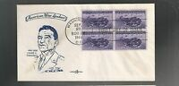 US FIRST DAY COVER FDC  925 PHILIPPINES  1944 BY PENT ARTS GENERAL CHENNAULT