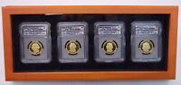 2007 COMPLETE PRESIDENTIAL DOLLAR PROOF SET ICG PR70 DCAM FIRST DAY ISSUE LOT X4