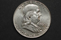 1963 D FRANKLIN HALF DOLLAR 2814