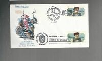 US FDC  FIRST DAY COVER  2024 PONCE DE LEON 1982 COMBO DUAL PUERTO RICO