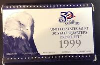 US MINT QUARTERS PROOF SET 1999