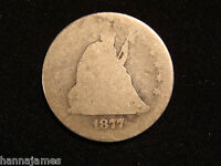 1877 SEATED LIBERTY QUARTER LOW COST LOW SHIPPING