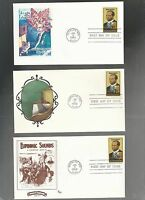 US FDC FIRST DAY COVER   2044 SCOTT JOPLIN MUSIC 1983  LOT OF 12