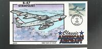 US FDC  1997 CLASSIC AIRCRAFT HAND PAINTED COLLINS  B-47 STRATOJET