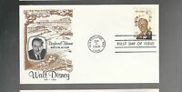 US FDC    1355 WALT DISNEY  MICKEY MOUSE 1968     NO ADDRESS