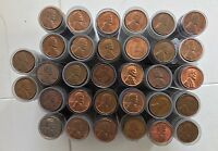 1600 BU/UNC LINCOLN WHEAT PENNIES/CENTS 1940'S 1958D   INCLUDES STEEL