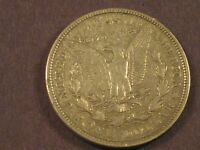 1921 D FINE  MORGAN SILVER DOLLAR