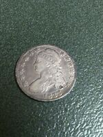 1833 CAPPED BUST HALF DOLLAR. 184 YR OLD PIECE OF AMERICAN HISTORY