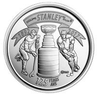2017 CANADA 25 125TH ANNIVERSARY OF STANLEY CUP BRILLIANT UNCIRCULATED QUARTER