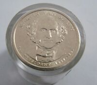 2008 P MARTIN VAN BUREN PRESIDENTIAL DOLLAR 12 COIN UNCIRCULATED ROLL MVB291