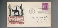 US FDC  FIRST DAY COVER  975 WILL ROGERS 1948 BY C W GEORGE