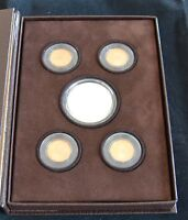 2009 UNITED STATES  MINT LINCOLN COIN & CHRONICLES   5 GEM PROOF SET