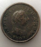 GREAT BRITAIN PENNY 1806 PTWIQY
