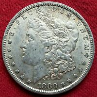 1880 P MORGAN SILVER DOLLAR MD293