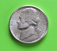 1987 P 5C JEFFERSON NICKEL   UNCIRCULATED