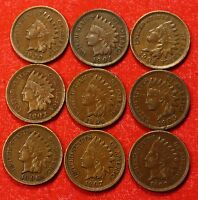 1900 1908 INDIAN HEAD CENTS XF BEAUTIFUL COLLECTOR COINS CHECK OUT STORE IH686