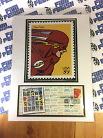 SDCC 2006 THE FLASH USPS FDI FIRST DAY ISSUE SUPER HERO STAMP CARMINE INFANTINO