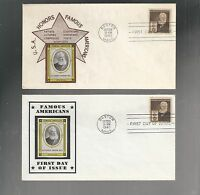 US FDC FIRST DAY COVER  893  BELL 1940 FAMOUS AMERICANS