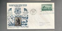US FDC FIRST DAY COVER   936 COAST GUARD 1945  BY CROSBY WATCH DOG