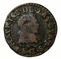 FRANCE 1633 FREDERICK MAURICE FRENCH DOUBLE TOURNOIS BOUILLAN AND SEDAN