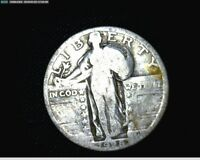 1928  STANDING LIBERTY SILVER QUARTER  1465