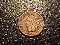 DECENT 1861 COPPER NICKEL INDIAN HEAD CENT FINE WE COMBINE ON SHIPPING