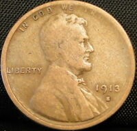 1913-S LINCOLN WHEAT CENT 2