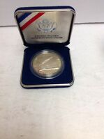 US CONSTITUTION COINS SILVER 1787 1987 LIBERTY WE THE PEOPLE IN BLUE VELVET CASE