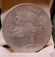 1923 P PEACE DOLLAR SILVER COIN