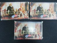 THE UNITED STATES MINT PRESIDENTIAL DOLLAR PROOF SET 2007 2008 & 2009