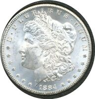 US COIN GSA 1884-CC MORGAN DOLLAR VAM 3    GEM BU.160213