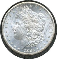 US COIN GSA 1885-CC MORGAN DOLLAR VAM 2    GEM BU.C-10901