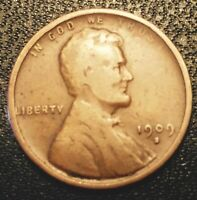 1909 S LINCOLN WHEAT CENT   KEY DATE COIN
