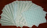 US 1942 MINT WINE STAMP REVENUES IN COMPLETE SHEETS CAT VALUE $33,390
