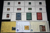 US MINT EARLIES 1851-75 INCLUDING 10C PICTORIAL & 90C 39 W/CERT CAT $81,080.
